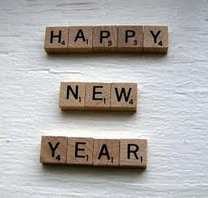 Happy New Year scrabble